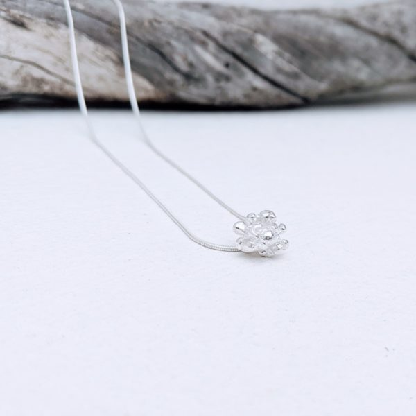 colgante de plata artesanal simbologia del mar fardatxeta joies