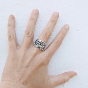 anillos de plata artesanales
