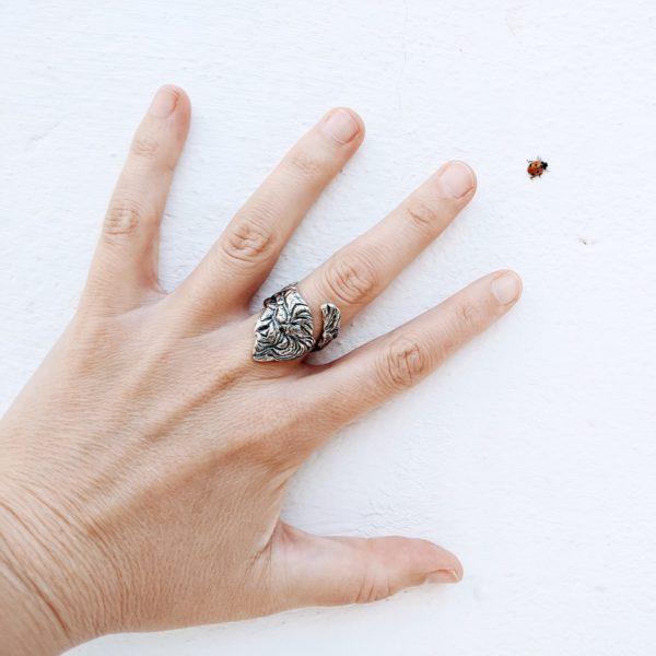 anillos de plata artesanales para regalar