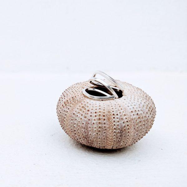 anillo de plata artesanal fardatxeta joies