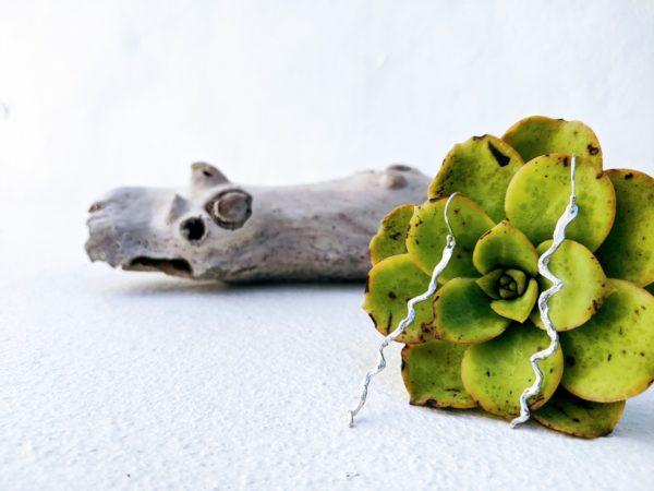 pendientes de plata artesanales fardatxeta joies